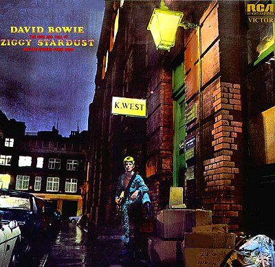 Ziggy album cover.