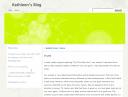 Kathleen's Blog