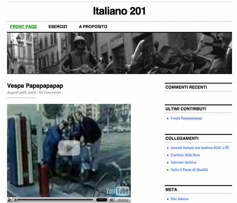Italiano 201