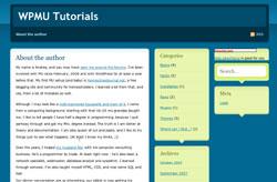 WPMu tutorials