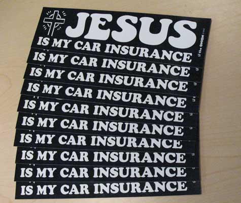 Image of Jesus Bumper Stickers