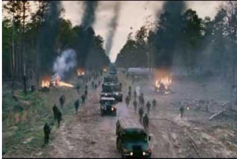The ending scene of The Mist film