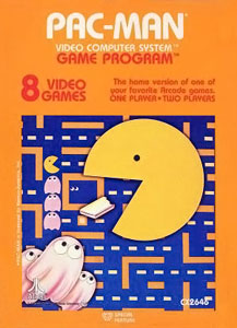 Image of Pac-Man cartridge for Atari 2600