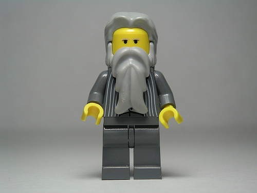 Image of Karl Marx Lego figure