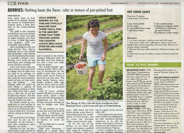 Tess in the News