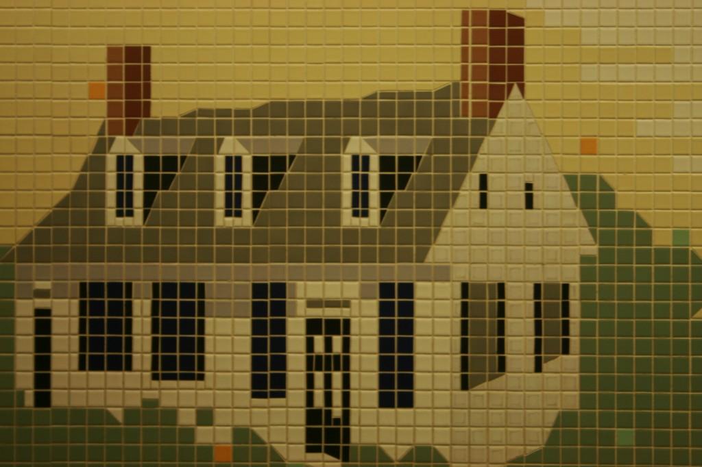 8-bit colonial house