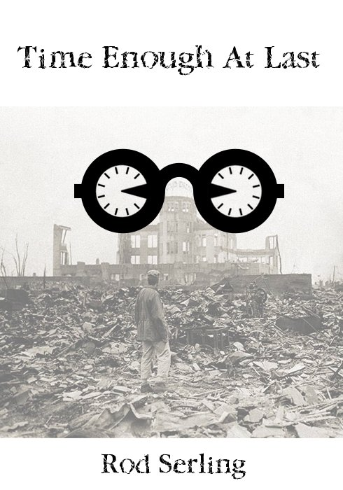 """""""Time Enough at Last"""" Minimalist Book Cover"""