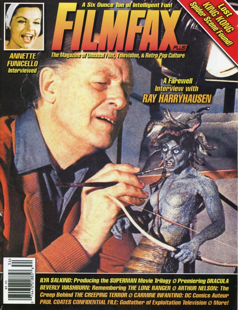 Filmfax Cover Ray harryhausen