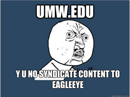 umw.edu y u no