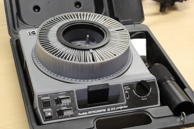 IMAGE OF A Kodak EKTAGRAPPHIC III SLIDE PROJECTOR