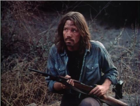 Dirty Hippie with Gun