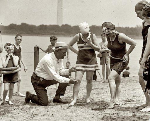 Image of Beach Policeman:1922