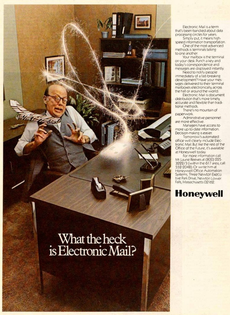 "1977: ""What the Heck is Electronic Mail?"""