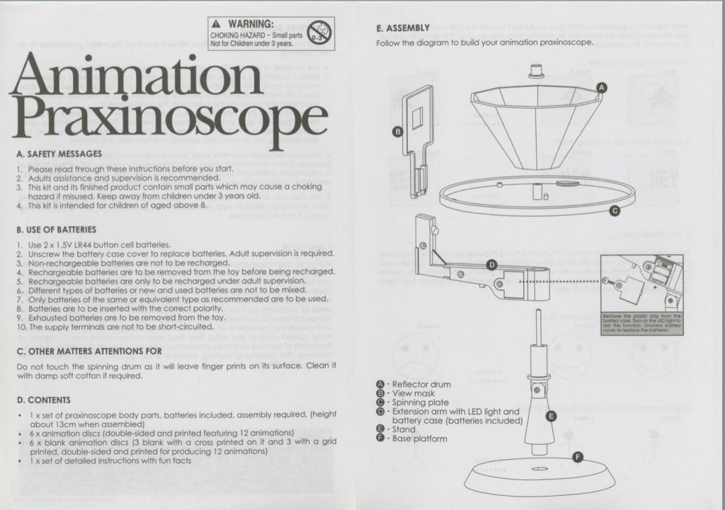 Animated Praxinoscope Manual
