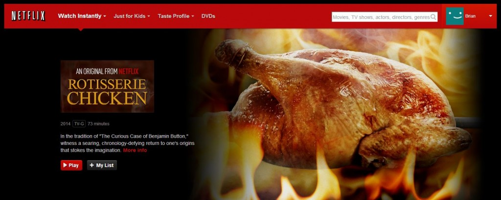Rotisserie Chicken Homepage