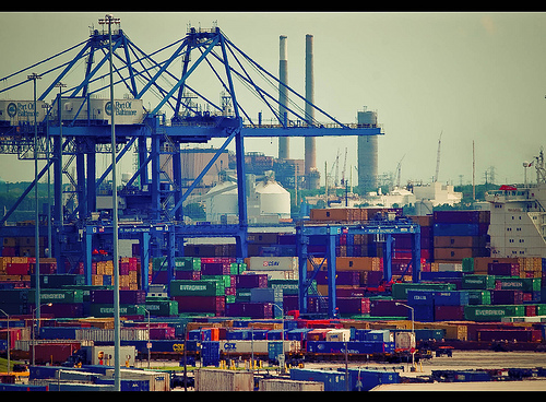 Baltimore port