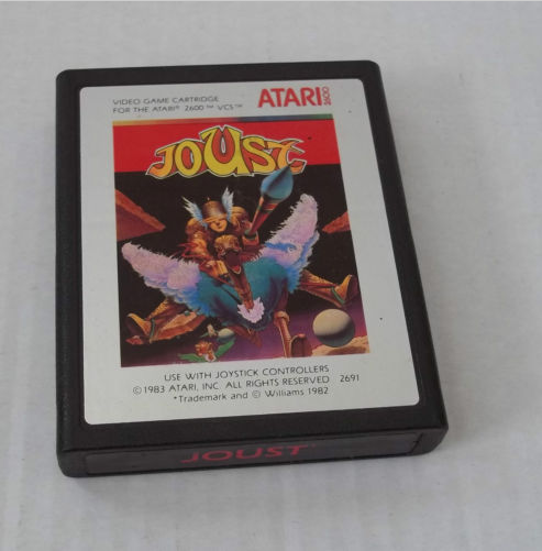 Joust Atari 2600 Cartridge