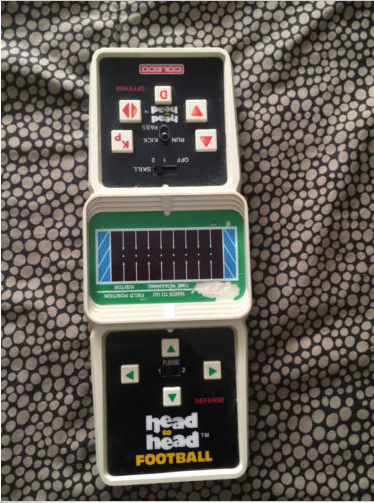 Coleco head to head football