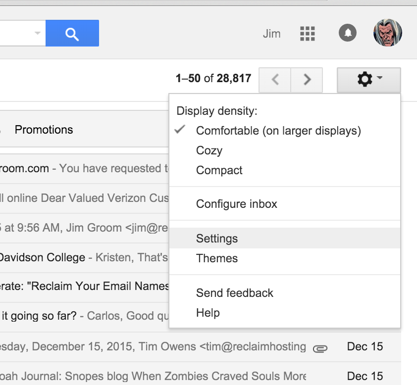 how to add another gmail address to my gmail account