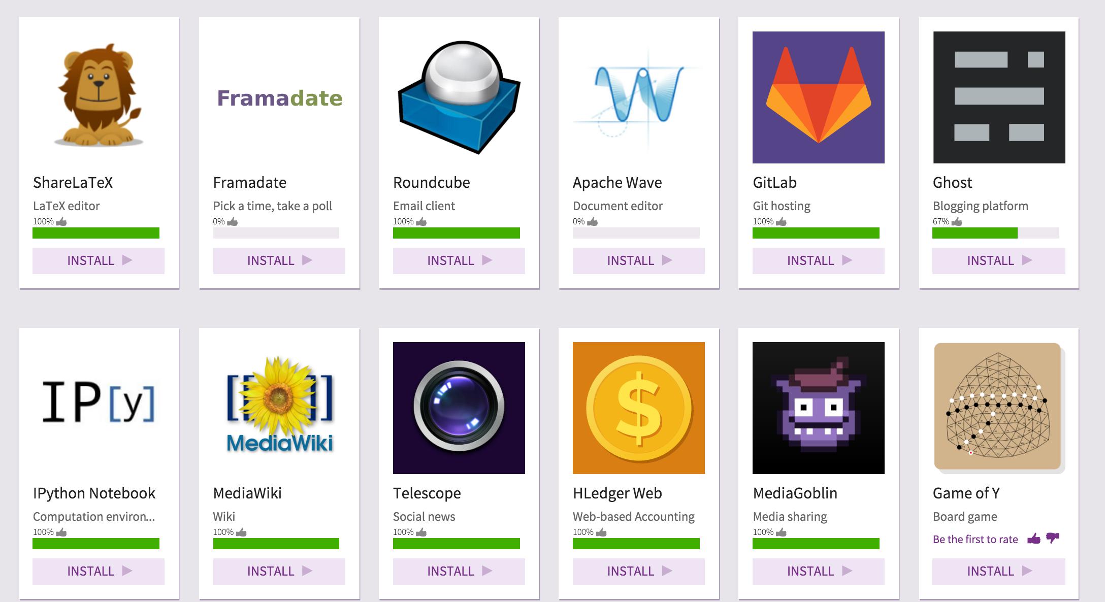 Sandtorm.io's App Market