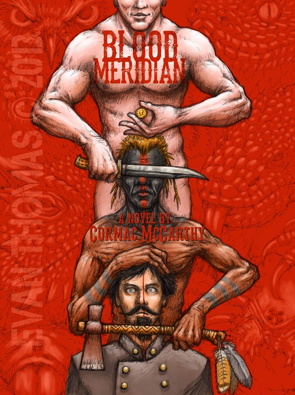 """Blood Meridian Cover"" by ECTMonster"