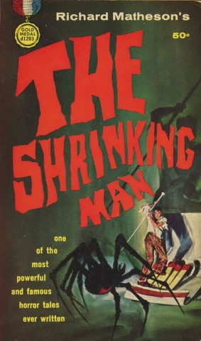 The Shrinking Man by Richard Matheson - Art by Mitchell Hooks