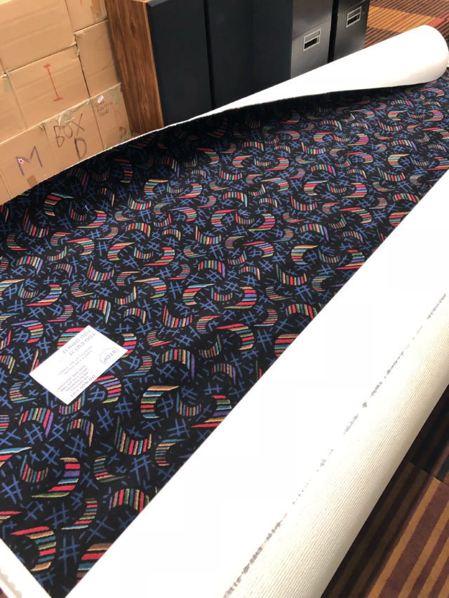 Reclaim Video Carpet
