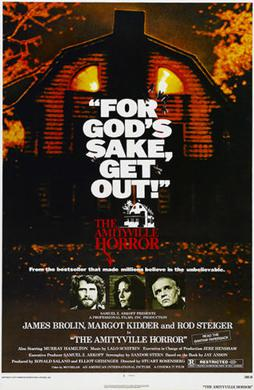 Amityville Horror movie poster from 1979