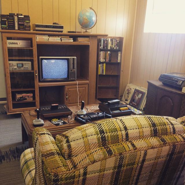 Image of the UMW Console Living Room