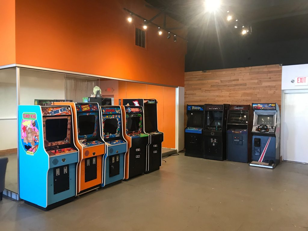 Reclaim Arcade Nintendo Wall