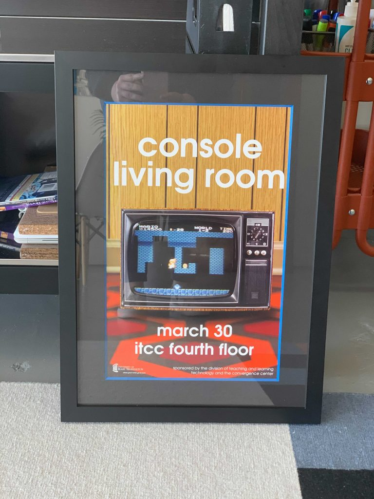Console Living Room poster