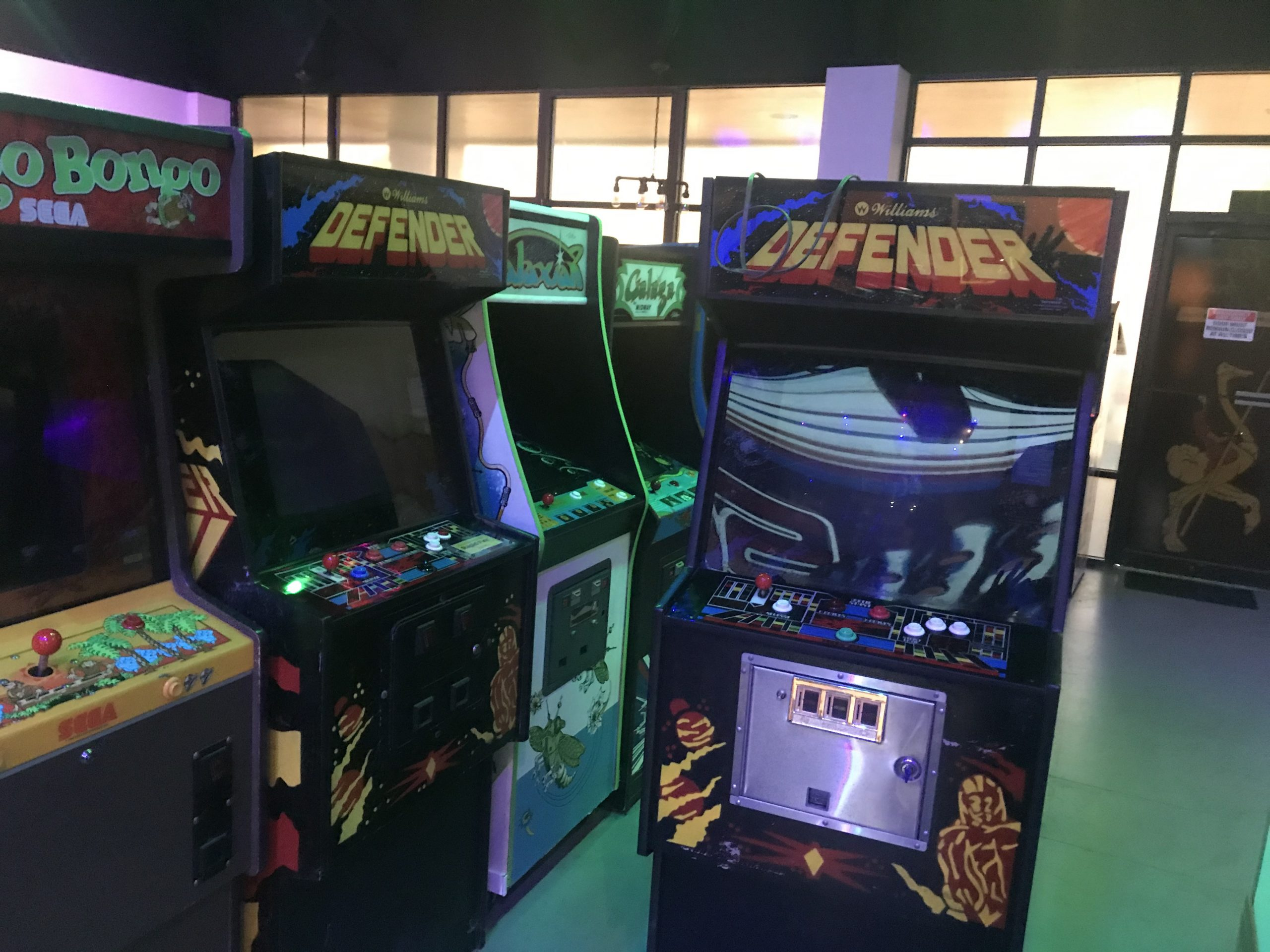 Image of Defender video game
