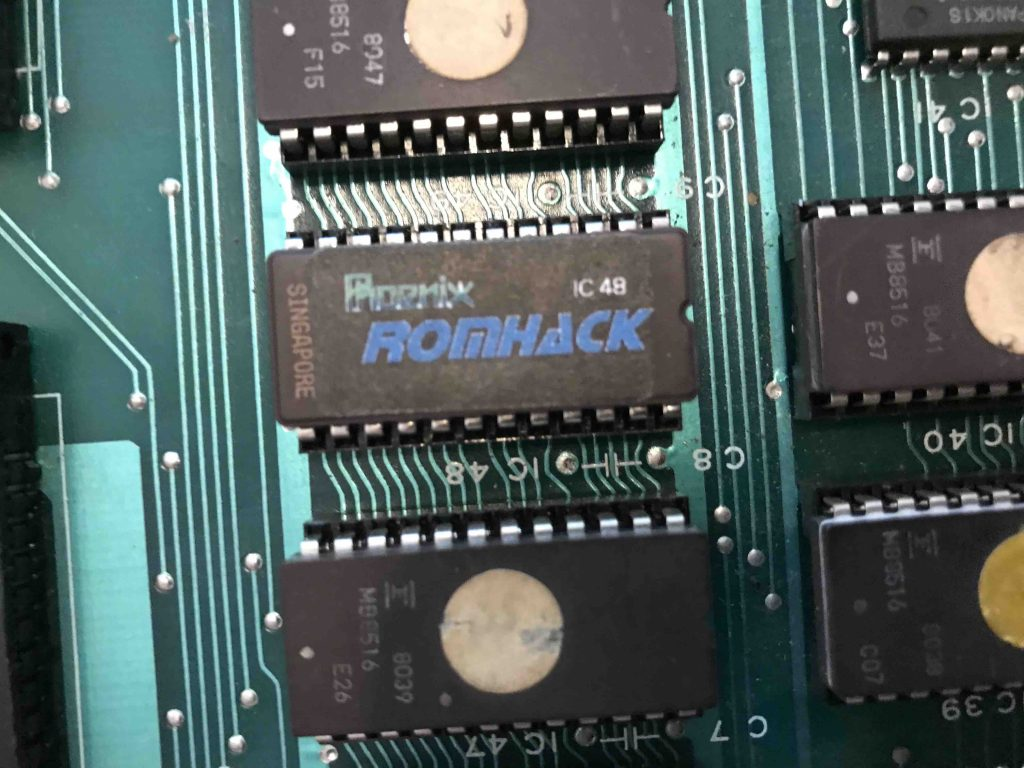 ROM 48 replacement