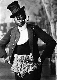 Image of Turn-of-century Black face Minstrel