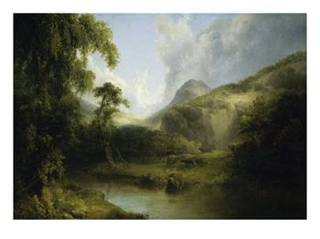 Image of a landscape painting